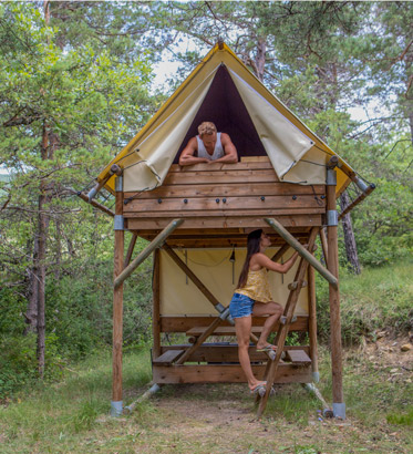 bivouac camping